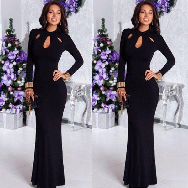Womens Formal Fishtail Mermaid Elegant Long Party Evening Dress Maxi Dress