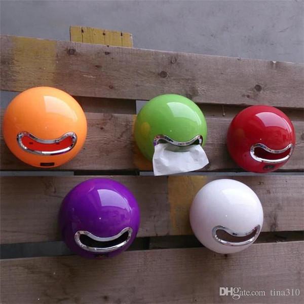 New Originality 8 colors product hot sales Plastic circular paper box Toilet paper box household tissue rack IA747