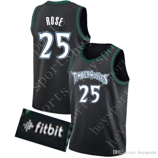 huge selection of 5fd10 0fd12 2018 New 25 Derrick Rose Minnesota Timberwolves Jersey Mens 3 Dwyane Wade  Miami Heat 23 Jimmy Butler City 76ers Jerseys From Xmm_jerseys, $27.11 | ...