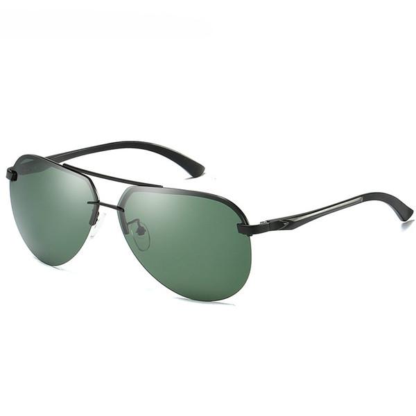 Black frame+green lenses