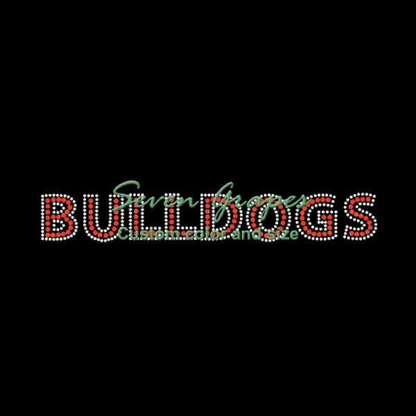 foto de 2020 Word Bulldog Rhinestone Iron On Transfers Hot Fix Motif From ...