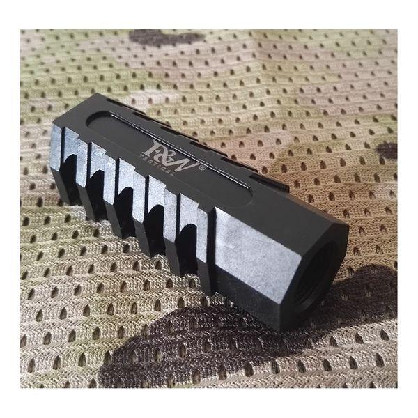F&N Tactical EVOE 5.56 223 Muzzle Brake Steel w  Crush Washer 1 2''x28 Thread