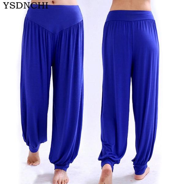 2018 Candy colour Loose trousers summer bloomers Mid elegant leggings plus size women Knitting leggins female pure Leggins K075 S18101506
