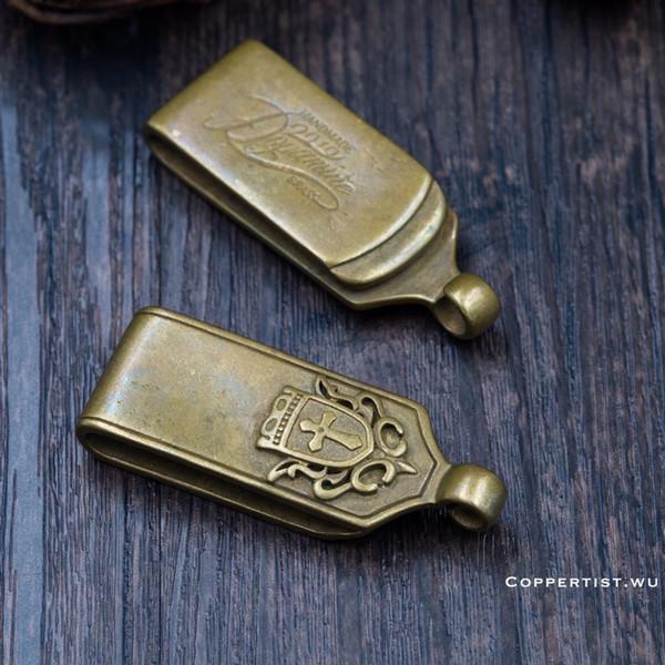 coppertist.wu Bronze Messing Hoher Gürtel Metall Klaue Haken Hangin Schnalle Schlüsselbund Gürtel hängen Verschlüsse Schlüsselbund Schlüsselbund