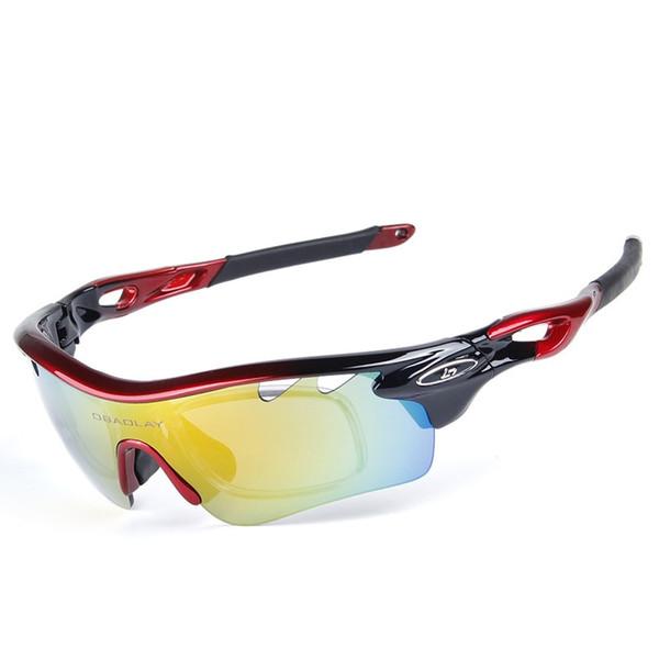 Ciclismo polarizada óculos de bicicleta ao ar livre esportes bicicleta  óculos de sol para homens mulheres e70c95c753