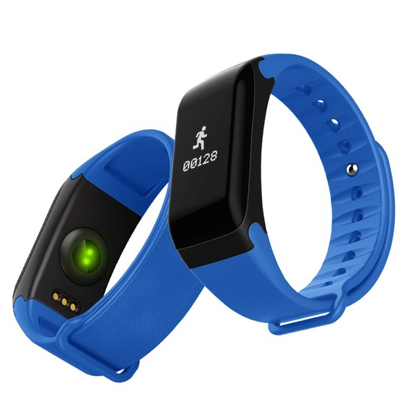 Smart Bracelet Measuring Heart Rate Blood Pressure Oximetry Step Health Monitoring Watch Men and Women Holiday Gifts