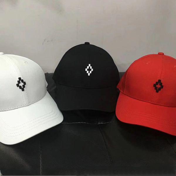 Marcelo Burlon Beyzbol Şapkası Snapback Hip Hop Erkekler Kadınlar Kamp Avcılık Açık Yaz Visor Plaj Güneş Şapka Nakış Trucker Caps Moda