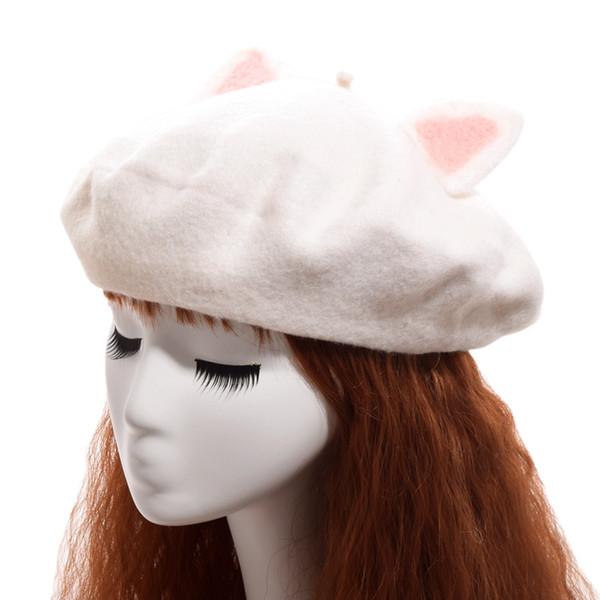 Cat Ears White