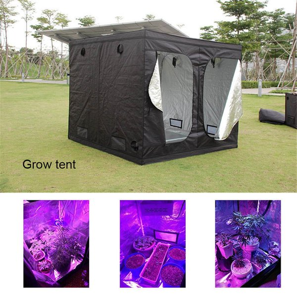 grow tent quick setup for hydroponic indoor plants growing grow house 60x60cm home use indoor succulent plants 100W grwo light needed