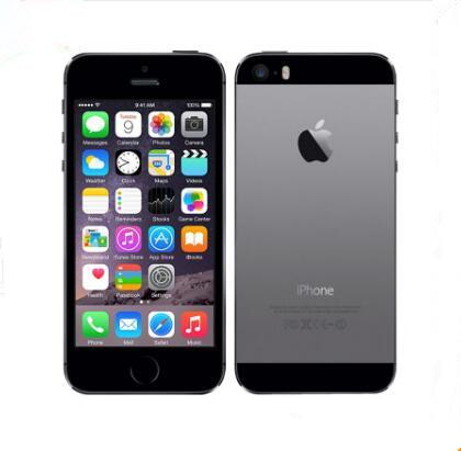 "Refurbished Unlocked Apple iPhone 5S WITHOUT fingerprint iOS A7 Single SIM 4.0"" IPS HD GPS 16GB 32GB 64GB ROM dual core Phones"