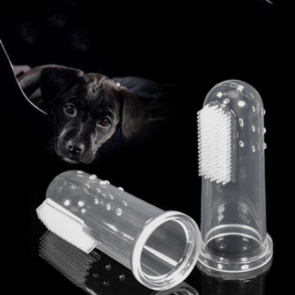 2018 Super Soft Pet Finger Toothbrush Teddy Dog Brush Addition Bad Breath  Tartar Teeth Care Dog Cat Cleaning Supplies From Aliyan1109, $0 78 |