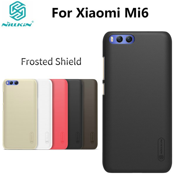 Xiaomi Mi6 Case Xiaomi Mi 6 Case Super Frosted Shield Hard Plastic Matte Back Cover with Gift Screen Protector 5.15''