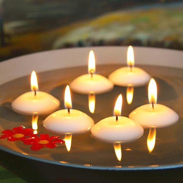 100 pcs romântico casamento decoracion fiestas flutuante vela para decoração de casamento decoração de festa de casamento