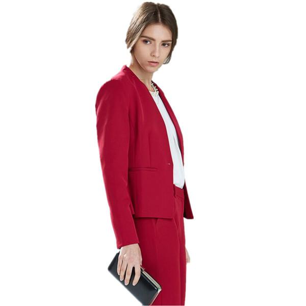 Women Pant Suits Autumn Bussiness Formal Elegant 2 Piece Set Blazers And Pants Office Suits Ladies Trouser Suits