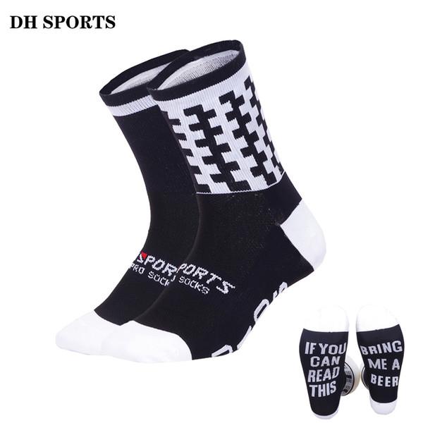DH SPORTS 2018 Funny Running Socks Professional Sports Socks Women Men Stylish Cycling Compression Camping Climbing Sock 38-45