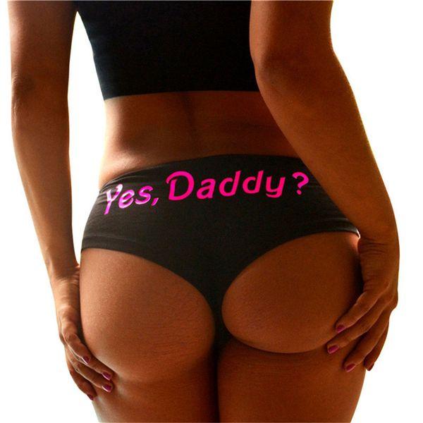 2018 New Hot Sale Letter Printed Sexy Brazilian Bikini Bottom Women Swimwear Swimsuit Trunk Tanga Micro Briefs Panties Underwear