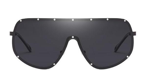 Lunettes de soleil pour hommes Nouveau modèle Lunettes de soleil polarisées surdimensionné pilote UV400 2019 Vintage Luxury Goggles New Fashion
