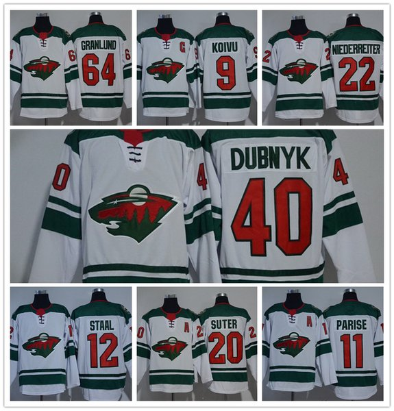 the best attitude 9effc 5d1e4 2019 Hockey Jerseys Minnesota Wild 3 Charlie Coyle 9 Mikko Koivu 11 Zach  Parise 20 Ryan Suter 64 Mikael Granlund Red Green White Stadium Series From  ...
