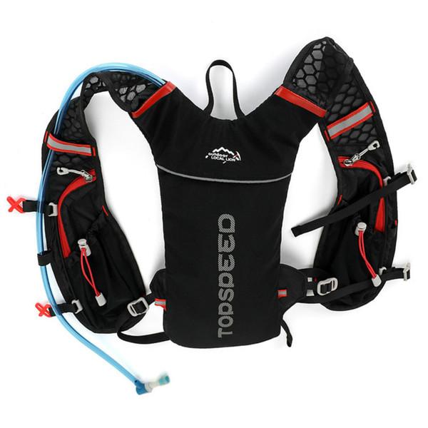 Cycling BackpacSport Fahrradtaschen Marathonrucksack RucksacPack Laufen Outdoor Wandern Wandern Tasche Mit 2L Wasser Blase Wasser Tasche