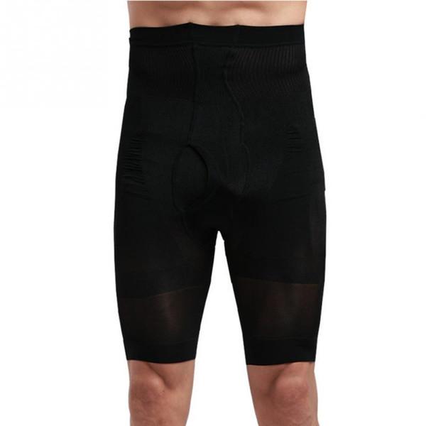 Nuovo Inverno primavera autunno Uomo Slim Body Shapewear Pantaloncini Dimagrante Shaper Vita alta nero Pantalone Underwear M-XL