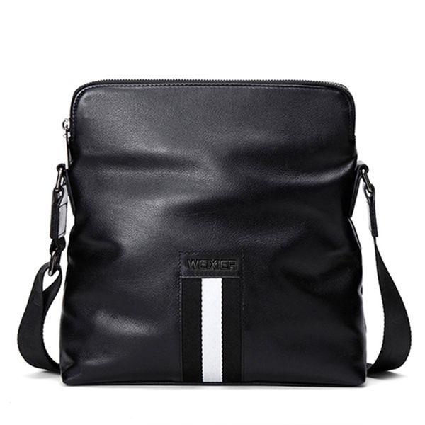 New Men bag 2018 fashion mens shoulder bags, high quality Leather casual messenger bag business men's travel bags