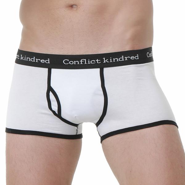 men underwear Cotton lycra cueca boxer hombre underpants man boxer brand underwear man Sexy hot mens shorts pouch male panties