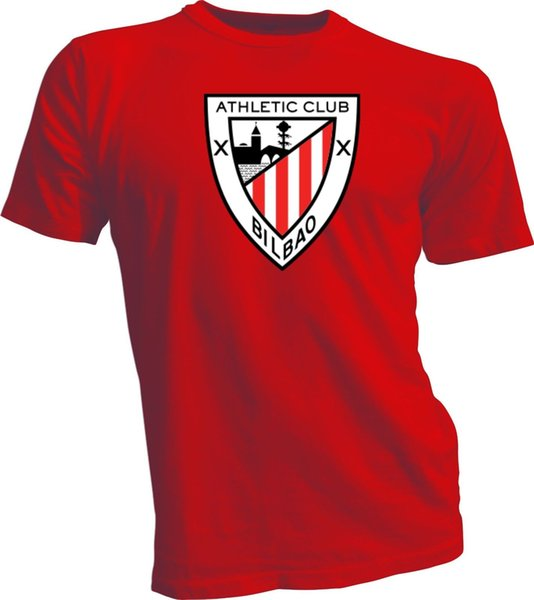 Athletic Club Bilbao Los Leones Spain La Liga Soccer Football Red T-Shirt New T Shirt For Men Gorgeous Short Sleeve Fashion Custom XXXL