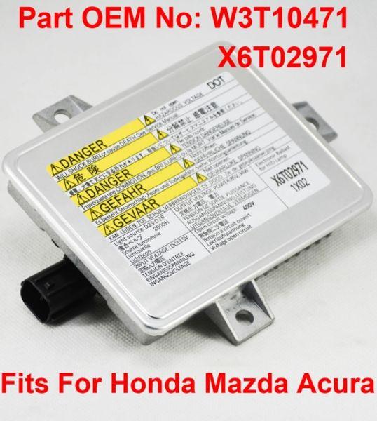 1 STÜCKE 12 V 35 Watt D2S OEM HID Xenon Scheinwerfer Vorschaltgerät Comput Steuergerät Mit Zünder Auto Teilenummer W3T10471 X6T02971 Für Honda Mazda Acura