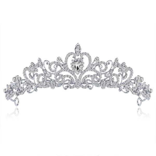 Bride Tiaras Crowns Wedding Hair Accessories Tiara Bridal Crown Wedding Tiaras for Brides Hair Ornaments W15