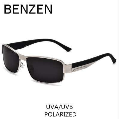 BENZEN поляризованных солнцезащитных очков мужчины классический сплав мужской солнцезащитные очки вождения очки оттенки с делом 9003
