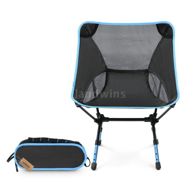 2018 new portable fashion adjustable high altitude light folding chair, outdoor camping, beach chair, outdoor chair, fishing chair.