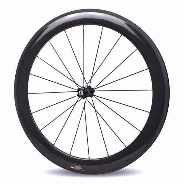 Carbon Fiber 700c Road Bike Wheel 38 50 60 88 Bicycle Wheelset With Straight Pull Hub NOVATEC AS511SB FS522SB Carbon Tube