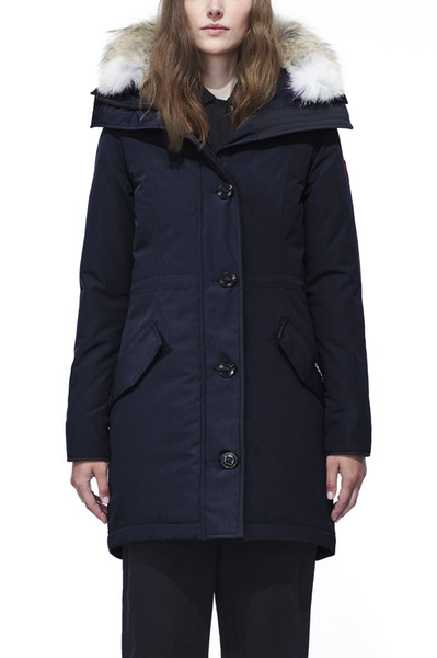 2019 Top copy Women's ROSSCLAIR Down Parka Navy arcticparka Winter Jacket Down Coat For Sale Cheap Norway Sweden