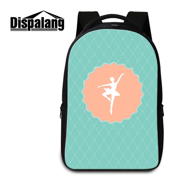 Art Backpack for College Girls Green Designer School Bag Stylish Laptop Backpack Patterns for Elementary Students Women Bookbag Girl Mochila