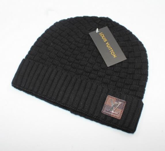 Hight qualité hommes femmes automne hiver sup bonnet casual sport tricoté casquette ski gorro noir blanc rouge casquettes crâne 003
