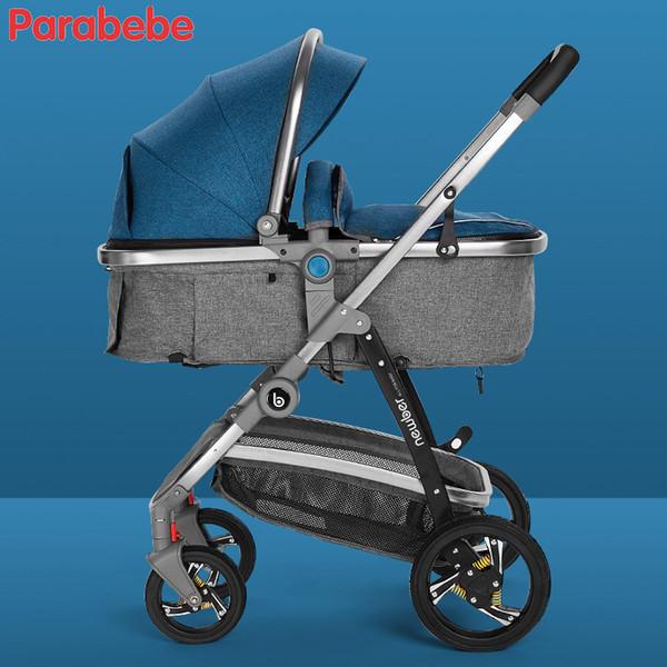 Dark Blue Stroller
