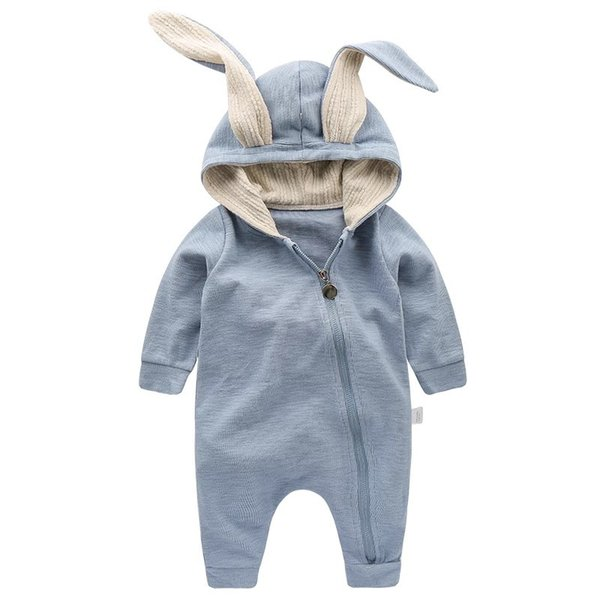Cute Rabbit Ear Hooded Baby Rompers For Babies Boys Girls Kids Clothes Newborn Clothing Jumpsuit Infant Costume Baby Outfit sleeping bags