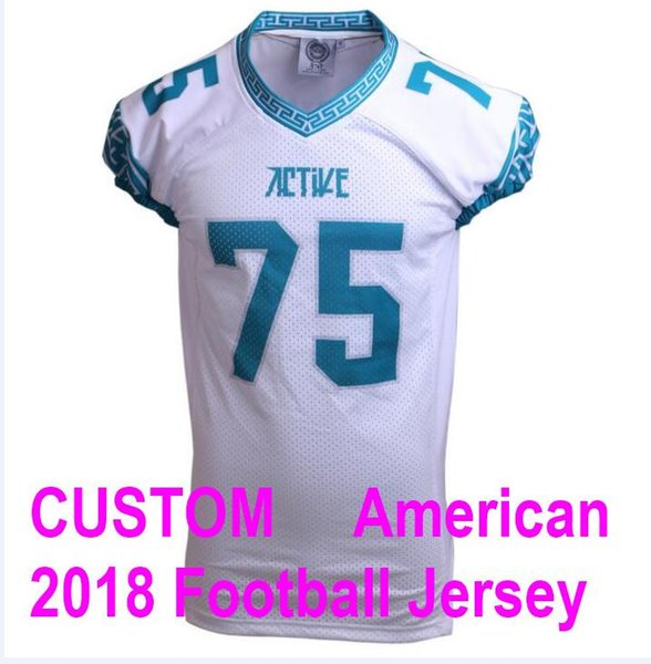 wholesale dealer 46e84 4dea9 2019 American Football Jerseys College Custom Jersey Stitched Pro Super  Game Bowl Elite LII Color Rush Patch 4xl Untouchable Amendola Factory Gea  From ...