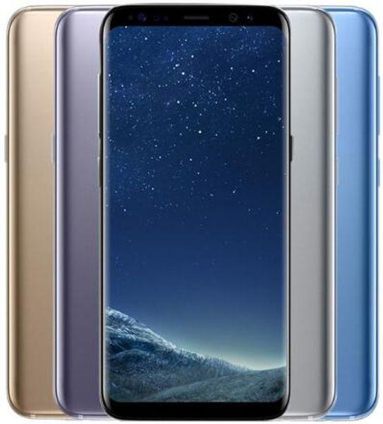 Unlocked Original Samsung Galaxy S8 plus 4GB RAM 64GB ROM Octa Core 6.2-inch display android support Fingerprint refurbished phone