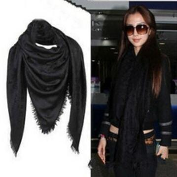 Luxury designer Letter Print scarf Gold Silver Thread scarves gif for Chirstmas Wrap Shawl Pashmina Scarf 140*140CM 20 Colors