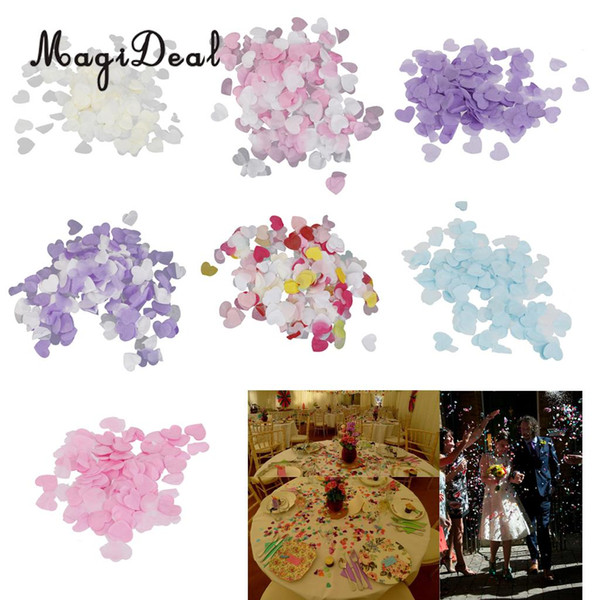 MagiDeal Cute Mini Paper Love Heart Confetti Wedding Engagement Party Decor 15g/Pack for Holiday Party Table Confetti Favors