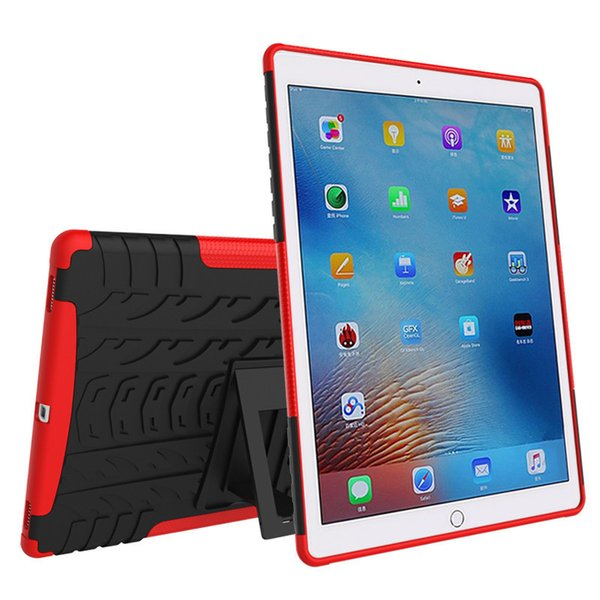 For Apple ipad Pro 9.7 inch ipad Pro Mini Tablet Cases Heavy Duty Defender Rugged TPU Armor Shockproof Kickstand Protector