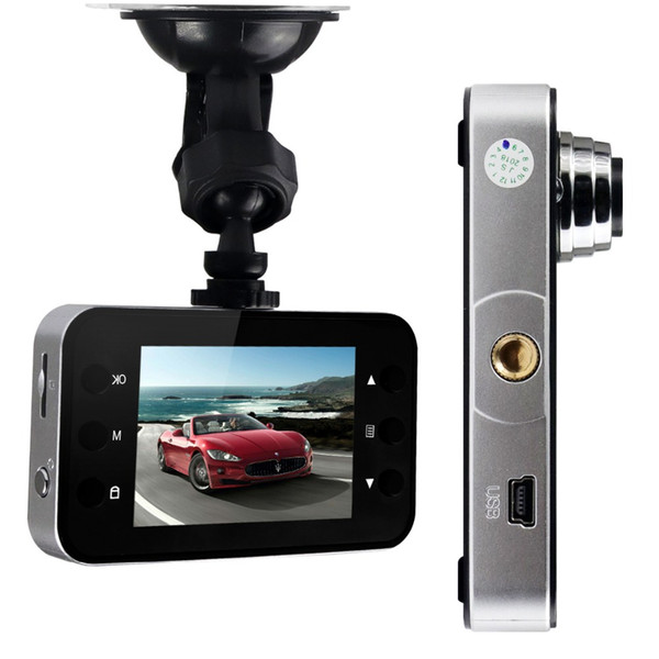 2.4Inch LCD 1080P HD Car DVR Dash Camera Video Recorder Camcorde Video Registrars Night Vision Loop Recording Dash Cam K6000