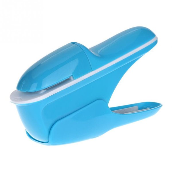 Mini Safe without Staples Hand held Stapler Free Stapleless 8 Sheets Capacity for Paper Binding Business School Office