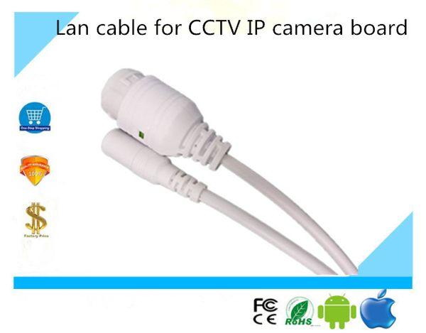 Cable LAN para CCTV Módulo de placa de cámara IP Cable LAN para ONVIF IP Board