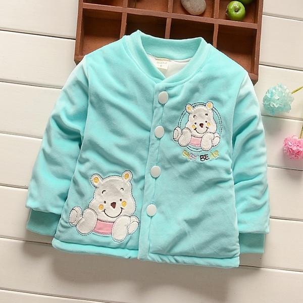 Toddler baby girls boys jackts autumn and winter Newborn coat Girls snowsuit Down Parkas cotton coat winter outerwear