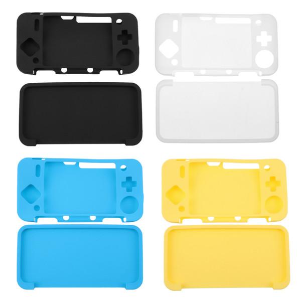 Estuche protector de piel suave y delgada para NDS 2DS XL / 2DS Juego LL Estuches para consola de juegos 4 colores