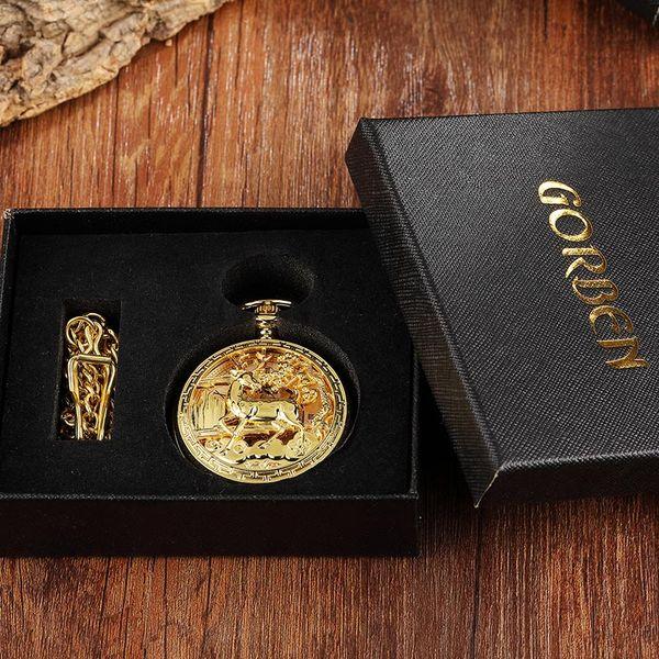 oro con scatola
