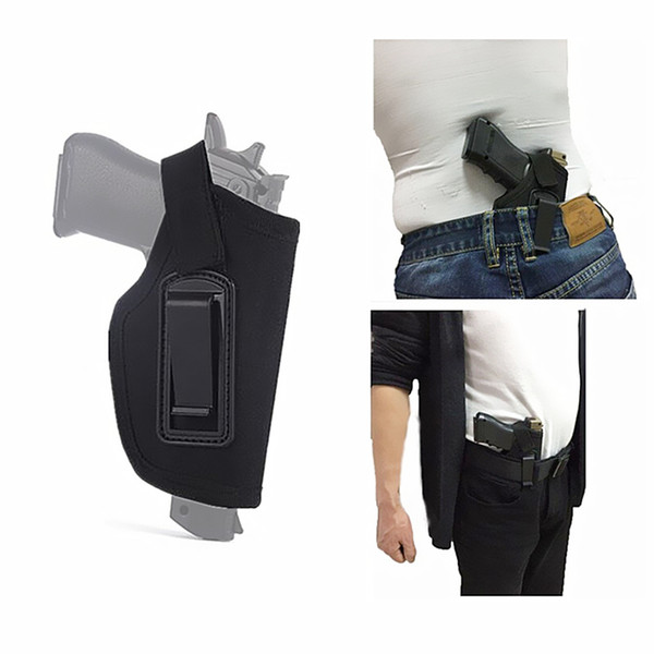 top popular FIRECLUB Inside the Pants Concealed Carry Clip-On Holster for Medium Compact And Subcompact Pistols 2021