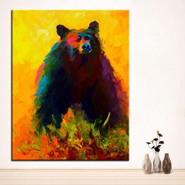 Black Bear Modern Art Photos